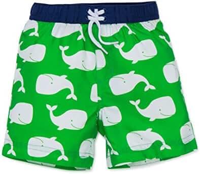 Little Me Boys' Print Swim Trunks