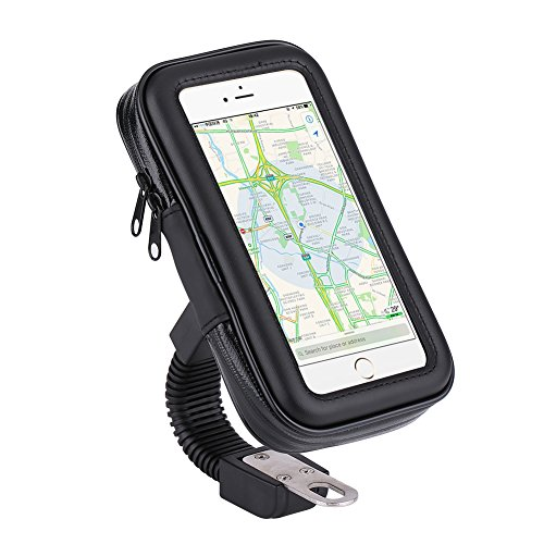 Cell I9100 Phone (Waterproof Universal Motorcycle Phone Mount Cradle Holder for Smart Phone for iPhone 6, 6S, 7, 7 Plus, Samsung I9300 I9100 S4 I9500(L))