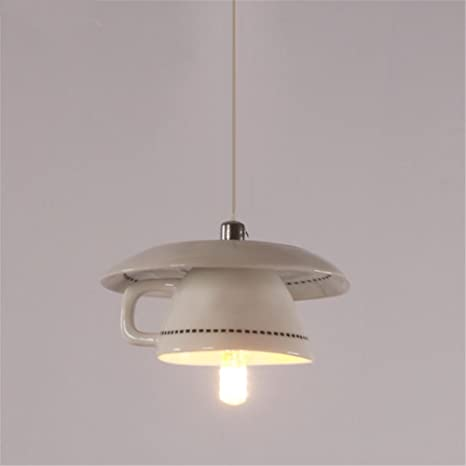 Lighting And Ceramics With Teapot Led Chandelier Ceiling Lamp Pendant Lights Creative Fashion Ceramics Hanging For Dining Living Rooms