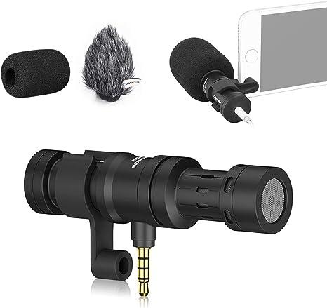 Commlite Comica CVM VS08 micrófono para Smartphones, cardioide ...