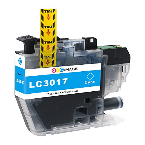 GPC Image Compatible Ink Cartridge Replacement for Brother LC3017 LC 3017 for Brother MFC-J6930DW MFC-J5330DW MFC-J6530DW MFC-J6730DW Printer 4 Pack (1 Black, 1 Cyan, 1 Magenta, 1 Yellow) Photo #8
