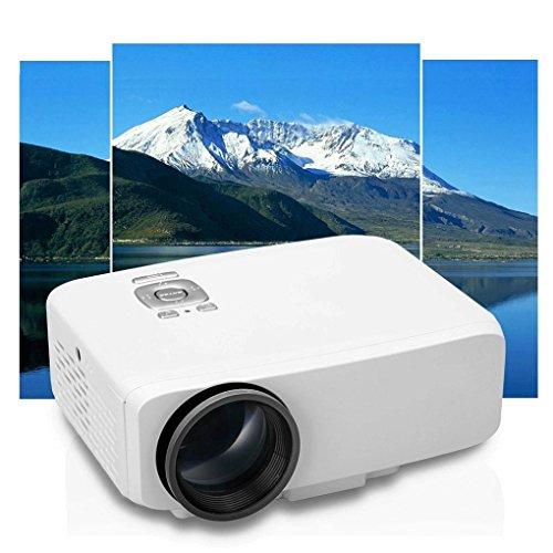 Ikevan Home Cinema Theater Multimedia LED LCD Projector HD 1080P PC AV TV VGA USB HDMI