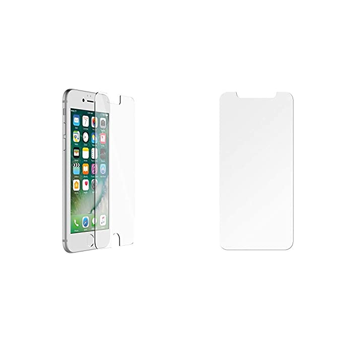 cheaper 48e06 b9c81 OtterBox ALPHA GLASS SERIES Screen Protector for iPhone 6/6s/7/8 (NOT Plus)  - Retail Packaging - CLEAR & ALPHA GLASS SERIES Screen Protector for ...
