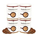 Instant Refried Beans, 32 oz (4 Pack) by Nutristore
