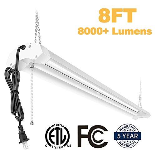 8 Foot Led Light Fixtures