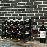 Ogrmar 3 Tier Stackable Wine Rack Countertop