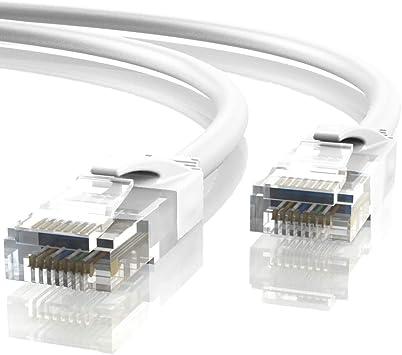 UTP Mr 30 Metros, Azul AWG24 CCA CAT6 RJ45 Tronic 30m Cable de Red Ethernet Latiguillo
