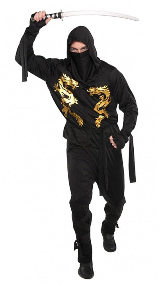 Amazon.com: Christys Adults Dragon Ninja Costume (size Plus ...