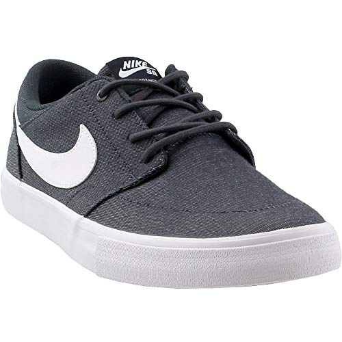 27229d7166433d Galleon - Nike Men's SB Solarsoft Portmore II, Sneakers, Grey/White, 7 M US