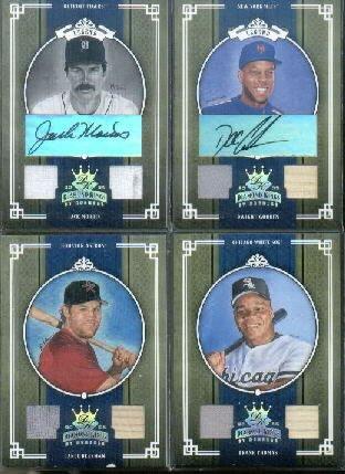 2005 Diamond Kings Materials Gold #103 Lance Berkman Bat / Jersey Game-Used Memorabilia Card Serial #'d/50