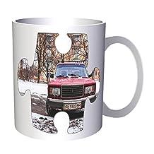 Puzzle Vintage Old Beautiful Car Picture 11oz Mug e604