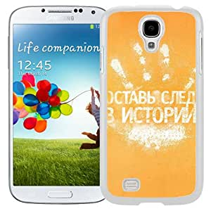New Beautiful Custom Designed Cover Case For Samsung Galaxy S4 I9500 i337 M919 i545 r970 l720 With Handprint (2) Phone Case