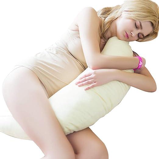 Almohada Embarazada Dormir y Cojin Lactancia Bebe Almohada ...
