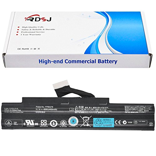 (FPB0278 Laptop Battery for Fujitsu Lifebook 552 AH552 Series 31CR19/66-2 11.1V 48Wh/4400mAh)