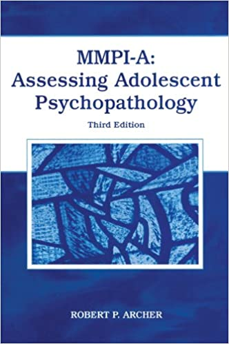 Amazon mmpi a assessing adolescent psychopathology mmpi a assessing adolescent psychopathology 3rd edition fandeluxe Image collections