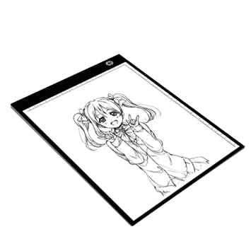 Copy Board Mesa de Luz Dibujo,A4 LED Mesas de Dibujo Light Pad ...