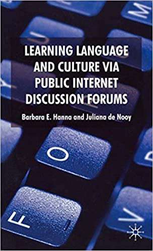 Learning Language and Culture Via Public Internet Discussion