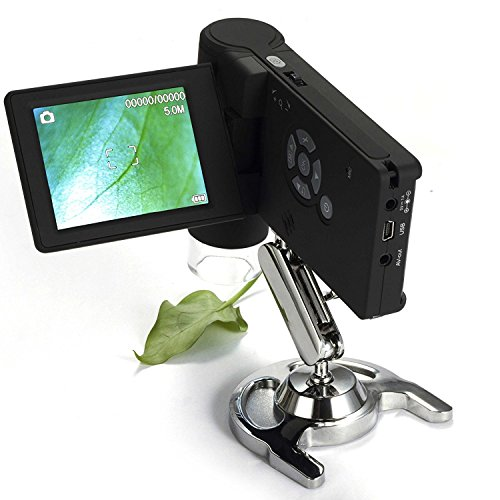 GERI® Portable LCD Digital Handheld Microscope 8 LED Video