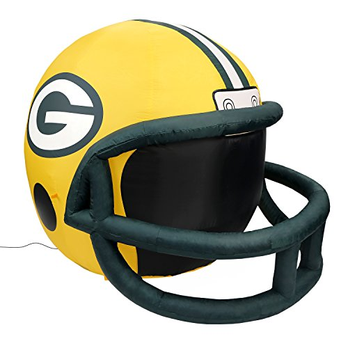 Fabrique Innovations NFL Inflatable Lawn Helmet, Green Bay Packers -