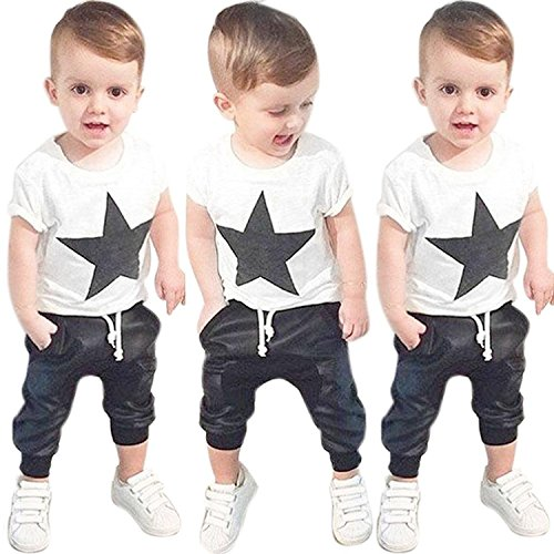 Efaster Toddler Clothes Printed Trousers product image