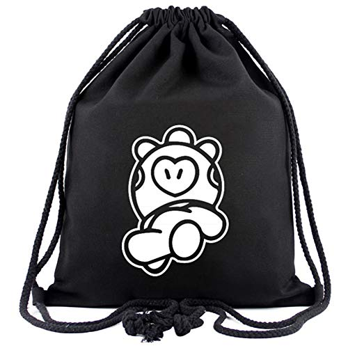Canvas Mang Students Drawstring And For Swim Storage Bt21 amp; Women Bts Kpop Men Bag Backpack Gym qEZYz8