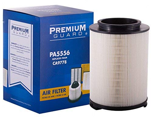 Premium Guard Air Filter PA5556 | Fits Chevrolet Colorado 2007-2004, GMC Canyon 2007-2004, Hummer H3 2007-2006, Isuzu i-280 2006, i-290 2007, i-350 2006, i-370 ()