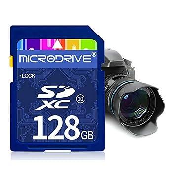 Tarjeta de Memoria SD de Clase 10 de Alta Velocidad de 128 ...
