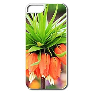 IPhone 5 Cases, Amazing Flower Bokeh Covers For IPhone 5/5S - White Hard Plastic
