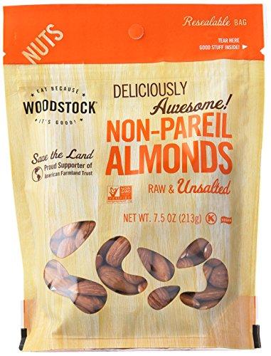 Woodstock Non Pareil Almonds, 7.5 (Non Pareil Almonds)