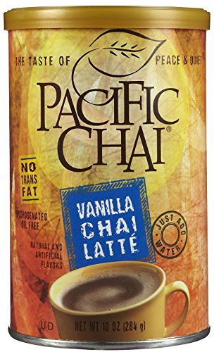 Pacific Chai Vanilla Chai Latte Mix Canisters - 10 oz