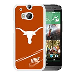 Fashionable And Unique Designed Cover Case With NCAA Big 12 Conference Big12 Football Texas Longhorns 3 White For HTC ONE M8 Phone Case