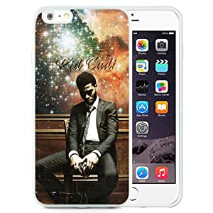 Beautiful And Unique Designed Case For iPhone 6 Plus 5.5 Inch TPU With Kid Cudi White Phone Case