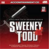 : Songs from Sweeney Todd (Accompaniment 2-CD Set)