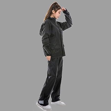 Cheng-Chubasquero Impermeable Traje de Lluvia Pantalones ...