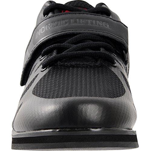 Noordse Tilkrachtliftschoenen Voor Zwaar Gewichtheffen - Hurkenschoen Heren - Megin 1 Jaar Garantie Zwart