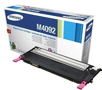 Samsung CLT-M4092S - cartucho de tóner magenta para Samsung CLP ...