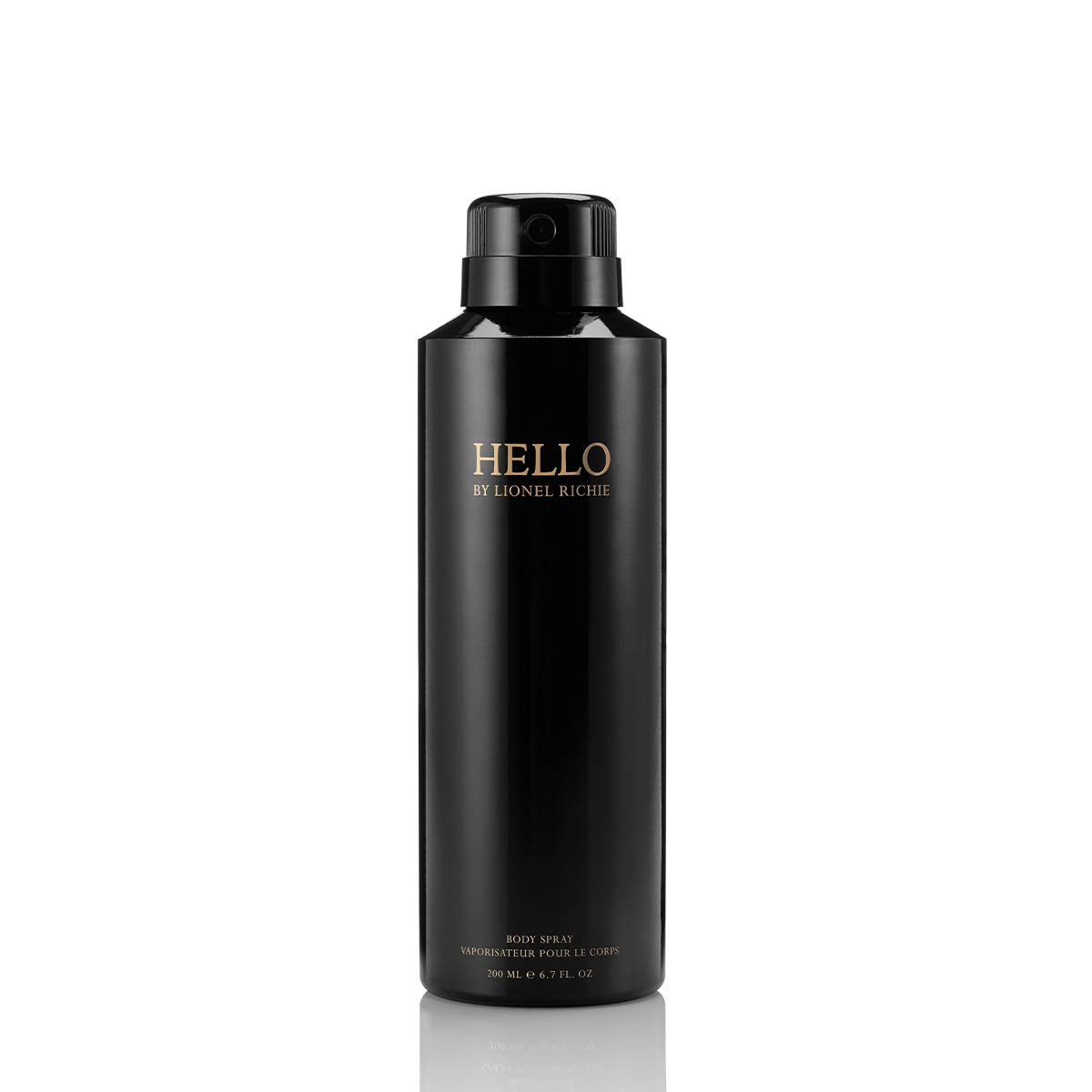 HELLO by Lionel Richie Body Spray   Spray Fragrance for Men   Notes of Grapefruit, Lavender, Violet Leaves, Vetiver   6.7 oz/200 mL