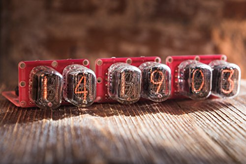 IN-12 Nixie tube clock without case