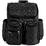 Diaper Backpack By Wallaroo - with Stroller Straps,...
