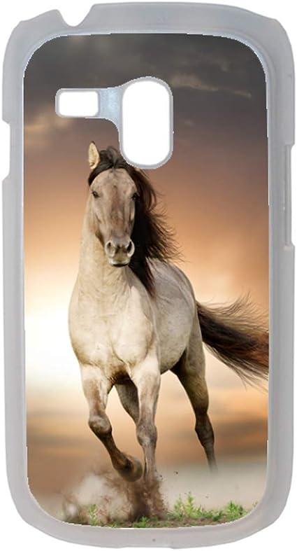 Générique Coque Cheval Blanc Compatible Samsung Galaxy s3 Mini ...