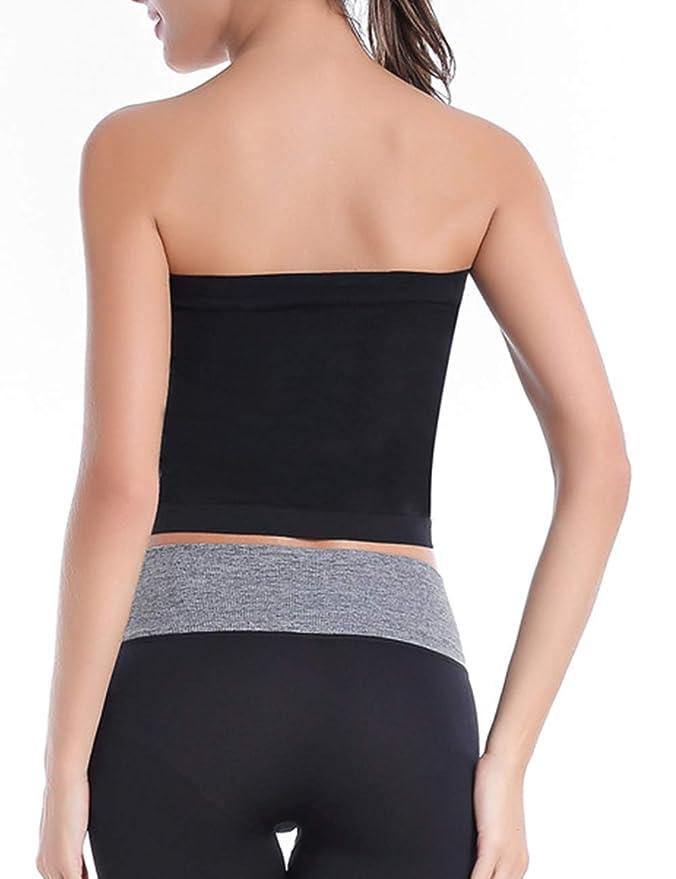 Amazon.com: Imagine Womens Medium Length Strapless Basic ...