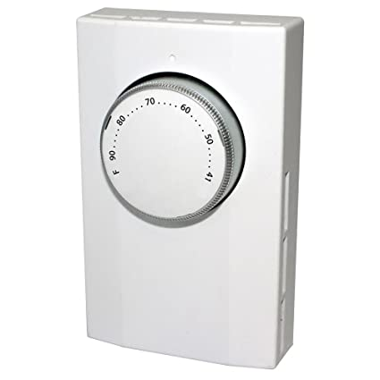 king k101 single pole line voltage thermostat 120volt 240volt, white King Thermostat Installation Guide