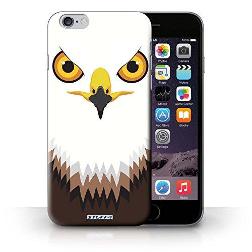 Hülle Case für iPhone 6+/Plus 5.5 / Falke / Adler Entwurf / Schnauzen Collection