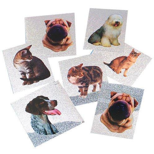 Dog And Cat Mylar Stickers U.S Toy 275