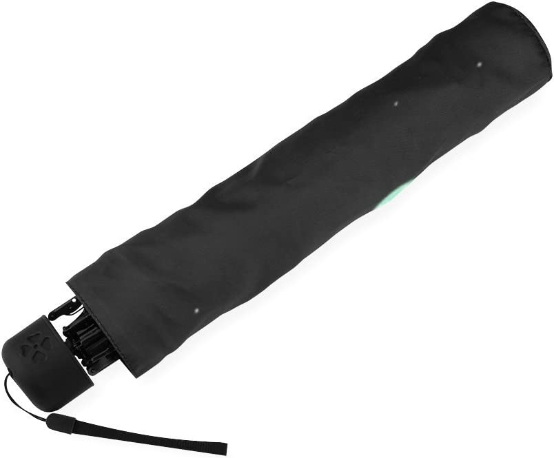 Custom wolf Compact Travel Windproof Rainproof Foldable Umbrella