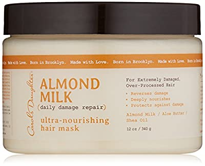 Carols Daughter Almond Milk Ultra-Nourishing Hair Mask, 12 Ounce