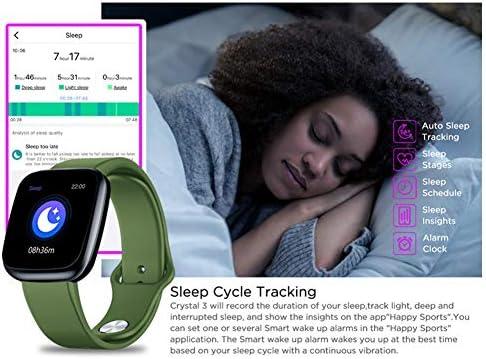 Zeblaze Crystal 3 Smartwatch, Pantalla a Color de 1.3 ...