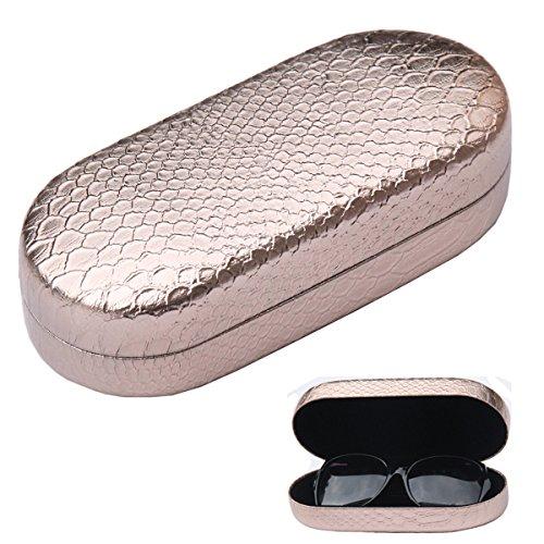 lucky-leaf-extra-large-frames-sunglasses-goggles-case-hard-shell-eyewear-glasses-case-golden