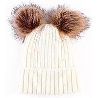 Baby Winter Warm Hat, Baby Newborn Knit Hat Infant Toddler Kid Crochet Hat Beanie Cap