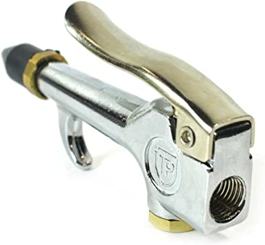 Standard Thumb Lever with Rubber Tip Air Blow Gun 1//4 Inch Female FPT B302